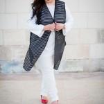 OOTD: Marina Rinaldi at Lilly Mae Longline Waistcoat